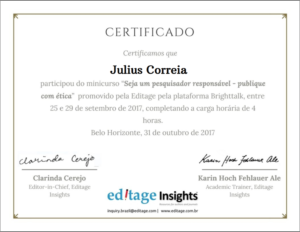 Editage Insights Certificado